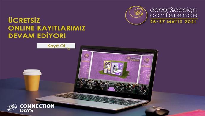 Decor & Design Conference | Ücretsiz Online Kaydınızı Yaptırdınız mı?