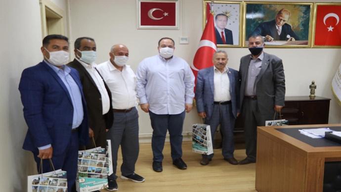 Viranşehir Belediye Başkanı Salih Ekinci Muhtarlarla Bir Araya Geldi