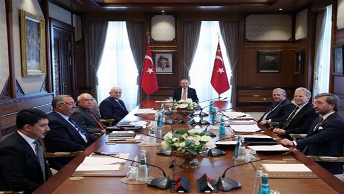 Cumhurbaşkanlığı Yüksek İstişare Kurulu Cumhurbaşkanı Erdoğan başkanlığında toplandı