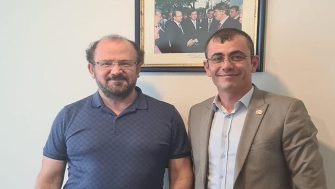 TARIMKON`DAN ESKİ RUSYA TARIM BAKANI PROF. DR. RUSBEK BISULTANOV' A ZİYARET